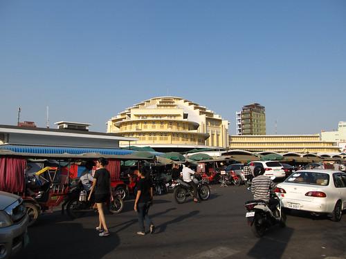 Phnom Penh: le Marché Central