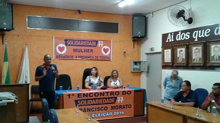 Solidariedade realiza 1º Encontro Municipal em Francisco Morato (SP)