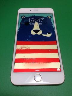 18_iPhone6Plusのフロントパネルガラス割れ