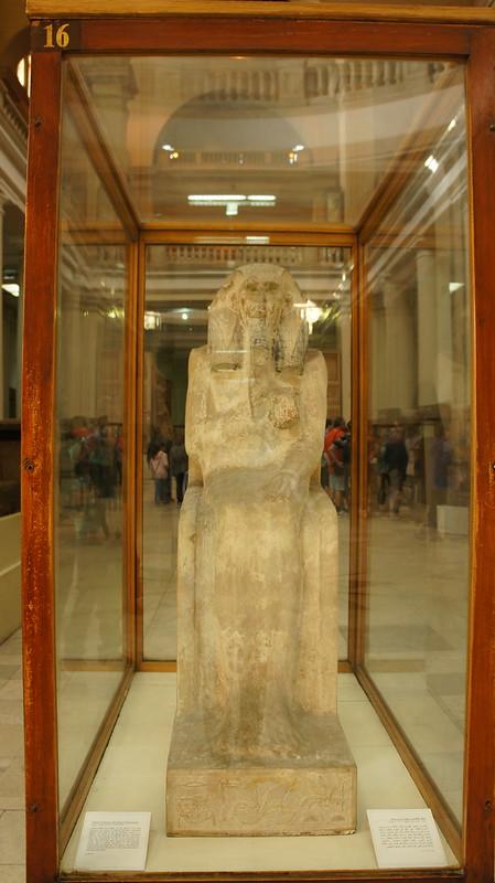 Statue of King Djoser