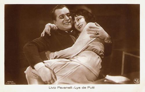 Livio Pavanelli and Lya de Putti in Charlott etwas verrückt (1928)