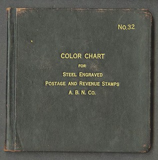 Lot 682 American Bank Note Co. Color Chart Book