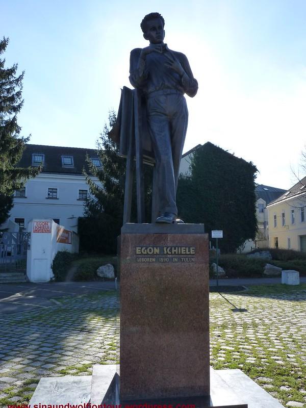 Egon Schiele geboren  1890 in Tulln