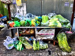 Street market #greens #bangkok