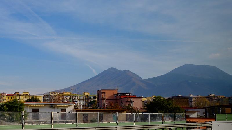 Il monte Vesuvio