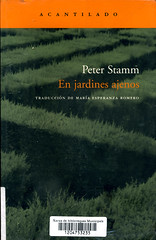 Peter Stamm, En jardines ajenos