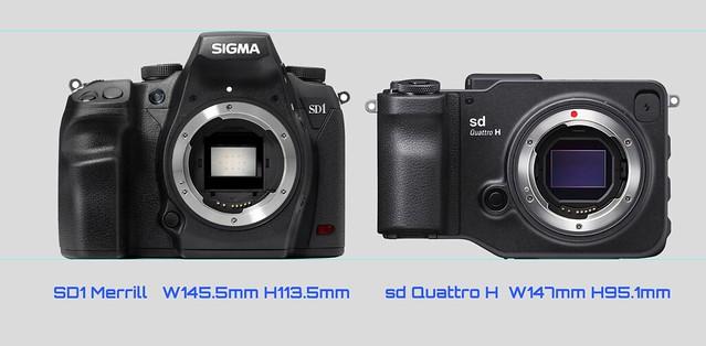 20160223_03_Size comparison of the SIGMA sd Quattro H & SD1 Merrill