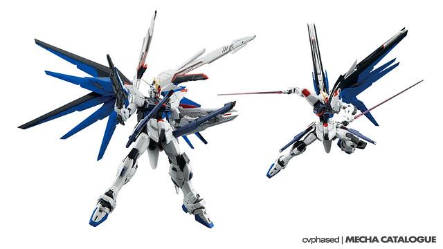 MG Freedom Gundam Ver.2.0 - Colored Prototype Shots
