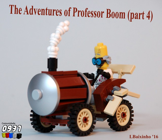 The Adventures of Professor Boom (part 4)