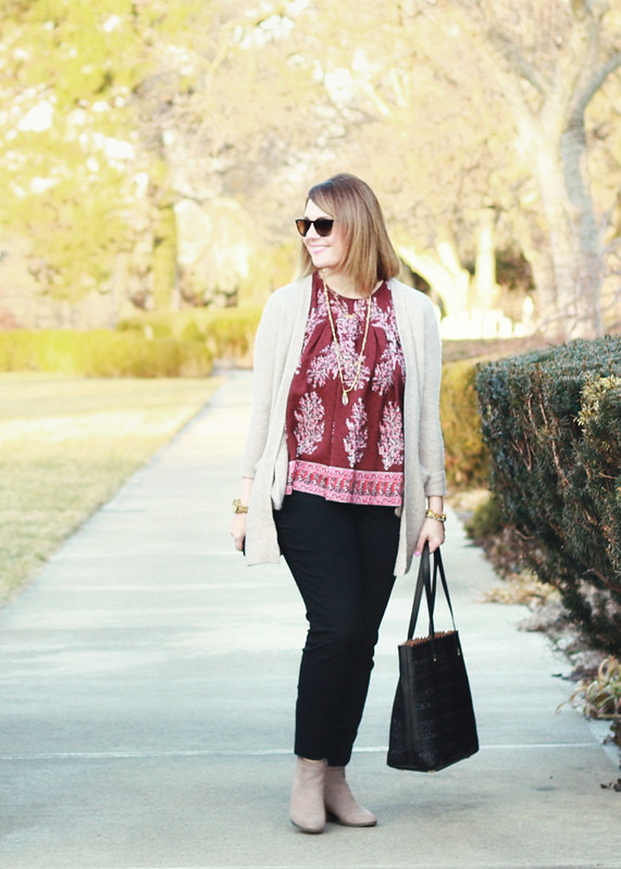 Madewell Floral Top 6