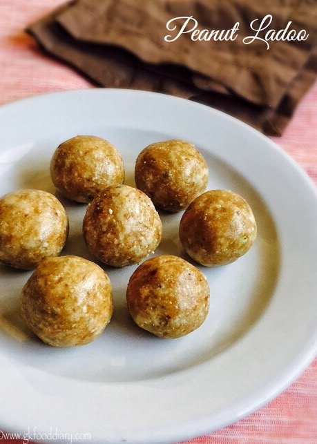 Peanut Ladoo Recipe for Toddlers and Kids5