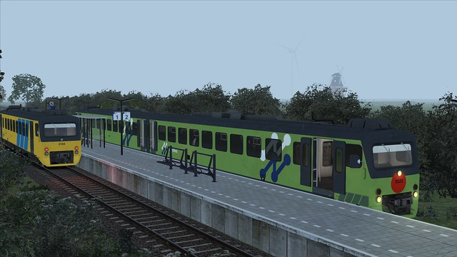 Train Simulator 2016 Workum NoordNed wadloper