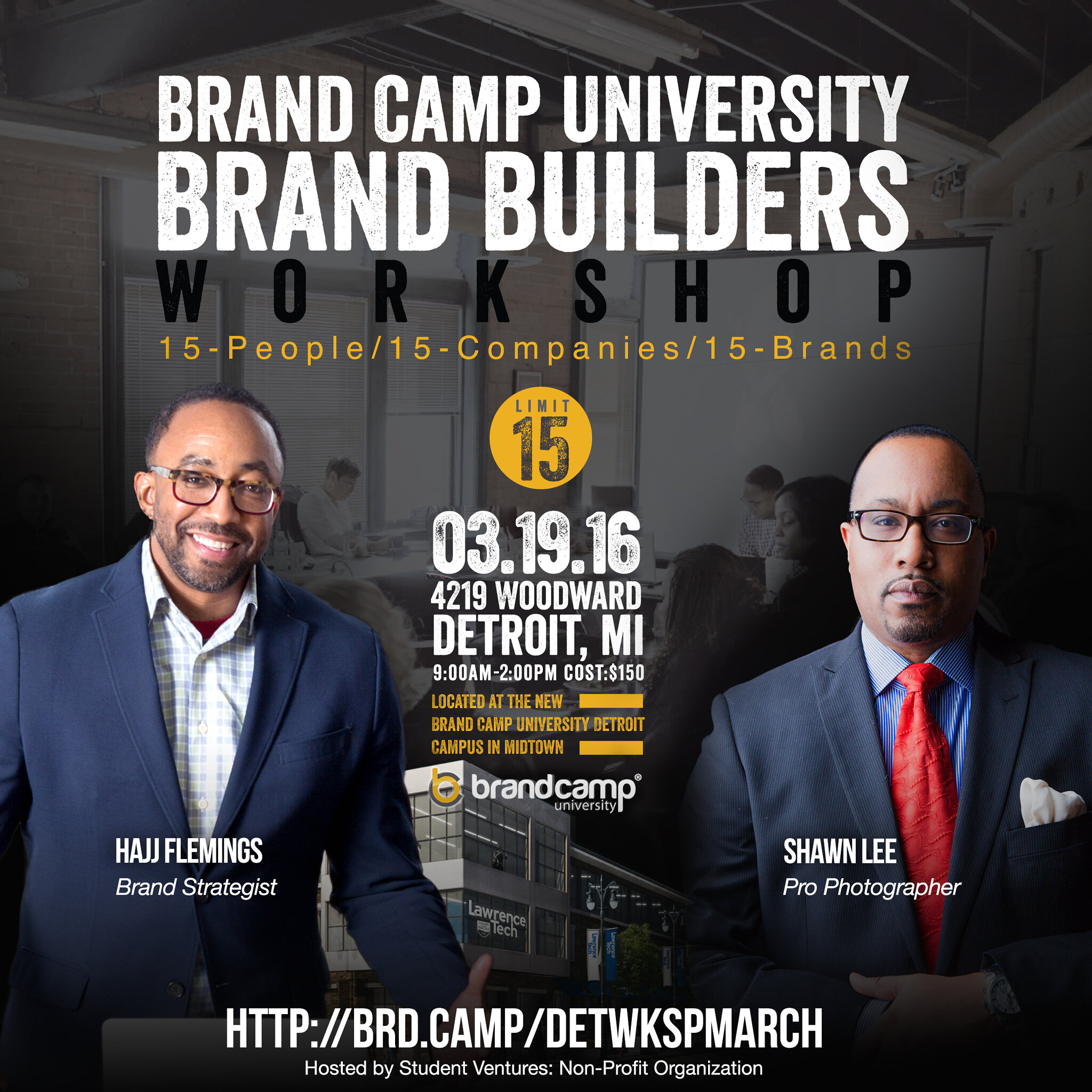 BRAND BUILDERS 2016 HAJJ AND SHAWN march