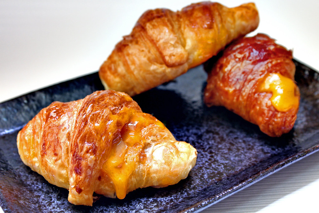 Breadtalk Golden Lava Croissant Landscape Three Croissants