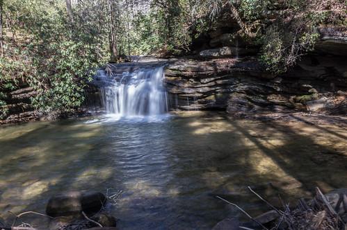 Carrick Creek Falls - 1