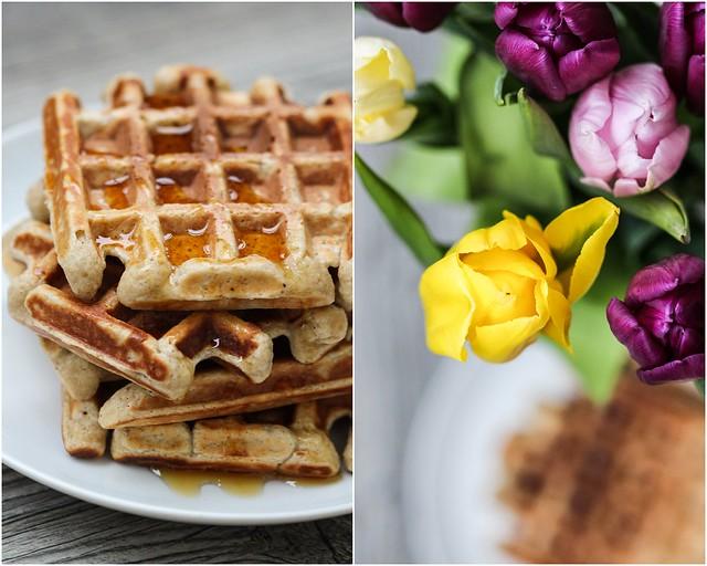 banana protein waffles (7)