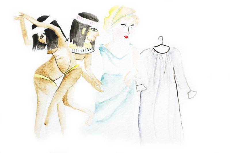 historia de la lencería en www.oddcatrina.com