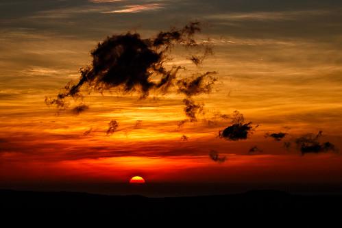 sunset atardecer costarica sonnenuntergang puestadelsol centroamérica rincóndelavieja