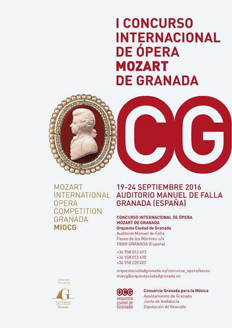 OCG - I Concurso Internacional de ópera 'Mozart'