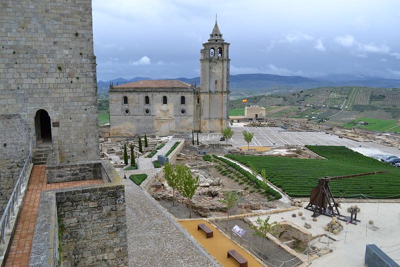 Iglesia abacial desde la Torre de la Campana