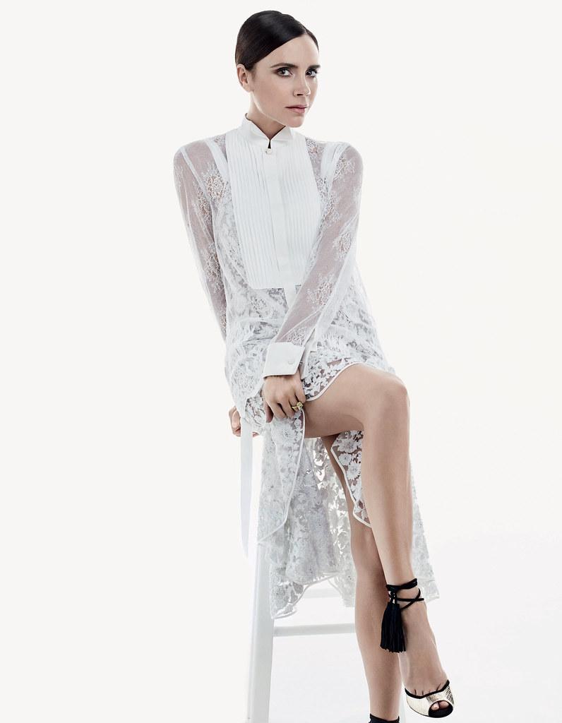 Виктория Бекхэм — Фотосессия для «Vogue» CH 2016 – 10