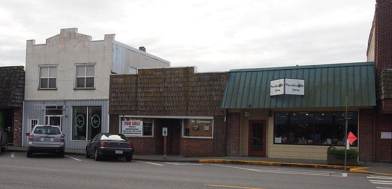 Stanwood: Stanwood was originally two towns, East Stanwood and Stanwood, with a feud between the Scandinavian populations keeping them apart.  The two towns merged in 1960.