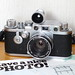 Once upon a time, Nikon made lenses for Leica cameras - Leica IIIf & W-Nikkor 3.5cm F1.8 by jonmanjiro