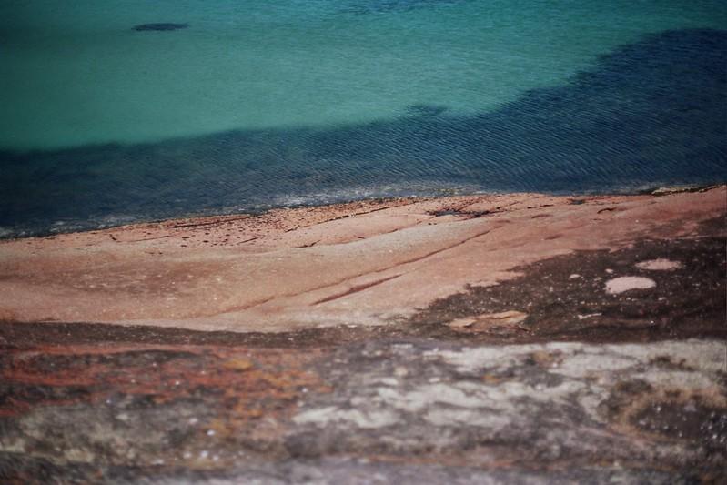 Tasmania - Honeymoon Bay / Schorlemädchen