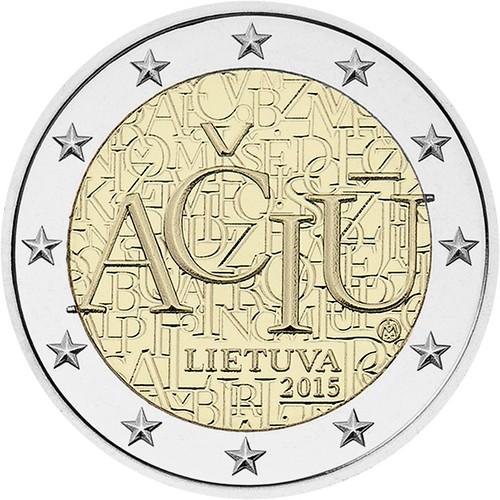 *2 Euro Litva 2015, Aciu: litovský jazyk