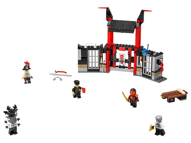 LEGO Ninjago Sets 2016: 70591 - Kryptarium Prison Breakout