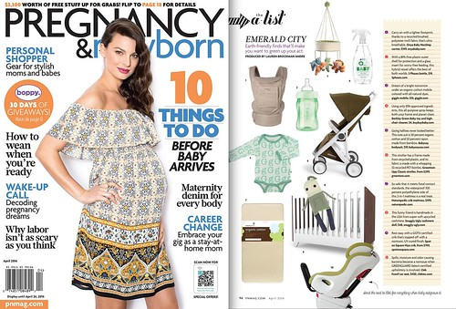 Pregnancy & Newborn's April issue!