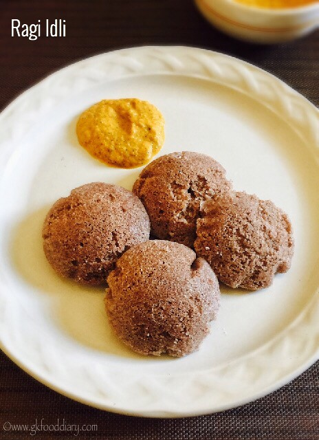 Ragi Idli Dosa Recipe for Babies, Toddlers and Kids