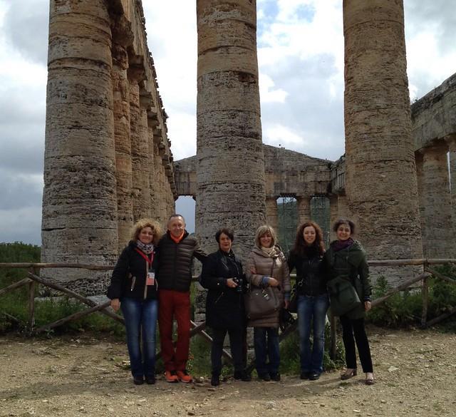 Gruppo Sicilia Occidentale a Segesta