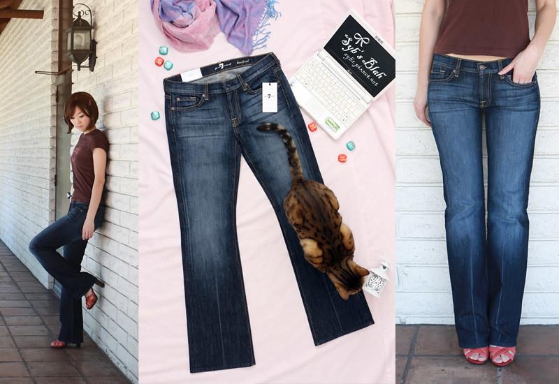 7 FOR ALL MANKIND,seven,7FAM,7 jeans,牛仔褲,精品牛仔褲,名牌牛仔褲,美國牛仔褲,團購,網購,穿搭,試穿,牛仔褲推薦,靴型褲,靴褲