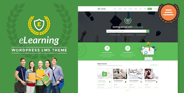 LMS WordPress Theme – eLearning WP v3.1.3