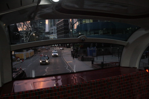 Rear Upper Deck Window of an Enviro 400H City