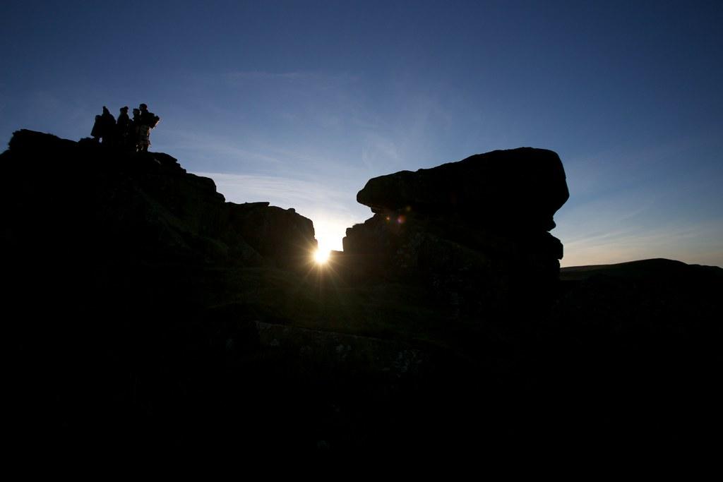 Wain Stones Sunset