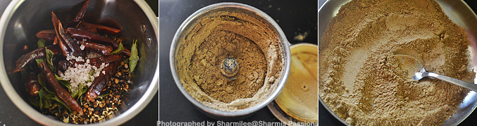 How to make Black Urad Dal Idli Podi Recipe - Step3