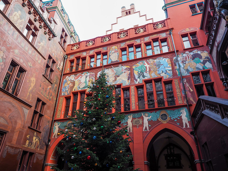 Rathaus in Basel, Switzerland