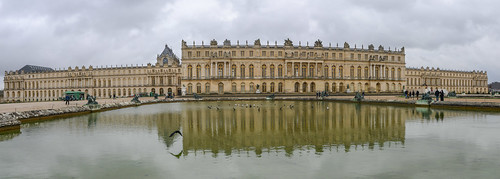 Château de Versailles from the garden