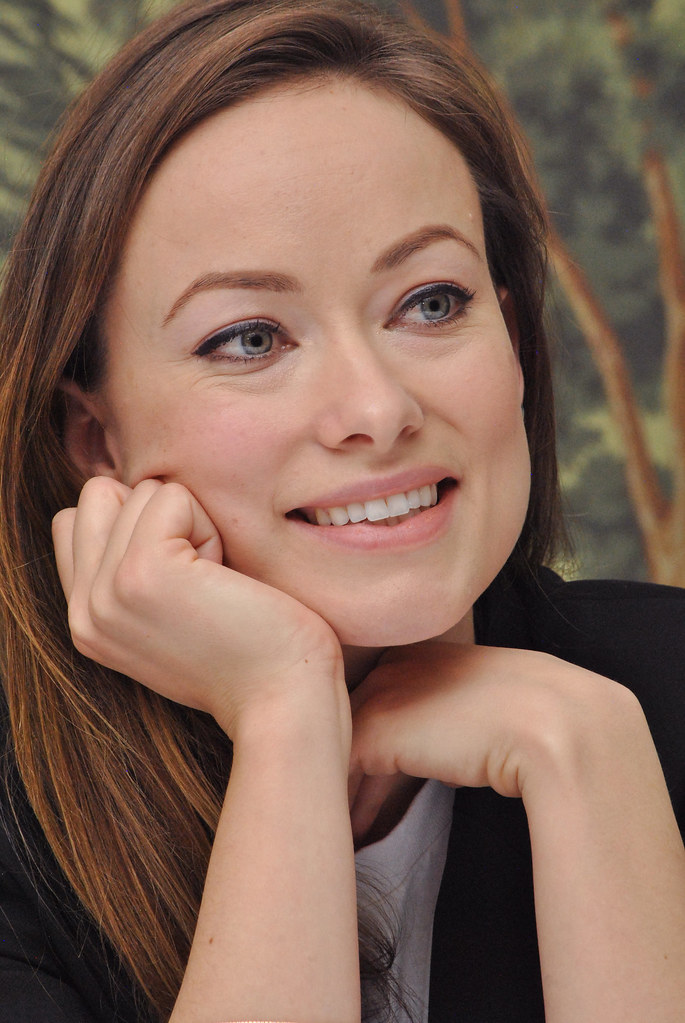 Оливия Уайлд — Пресс-конференция «Винил» 2015 – 53