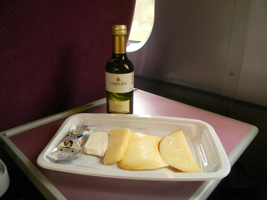 Soave and 5 Cheeses, on the Train 1