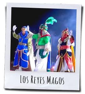 Los Reyes Magos op het Driekoningenfeest in de stad Alcoy in het achterland van Alicante