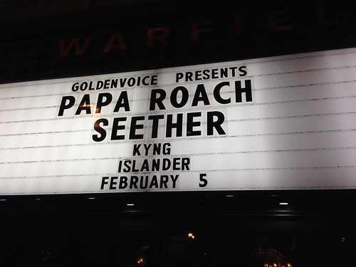 Papa Roach & Seether