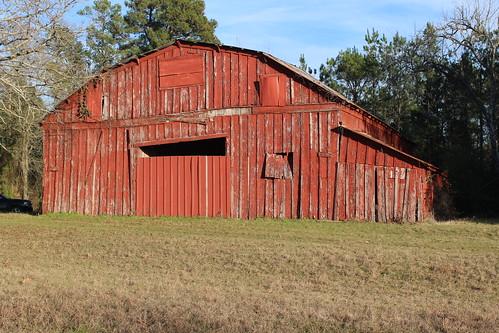 rural outside barns