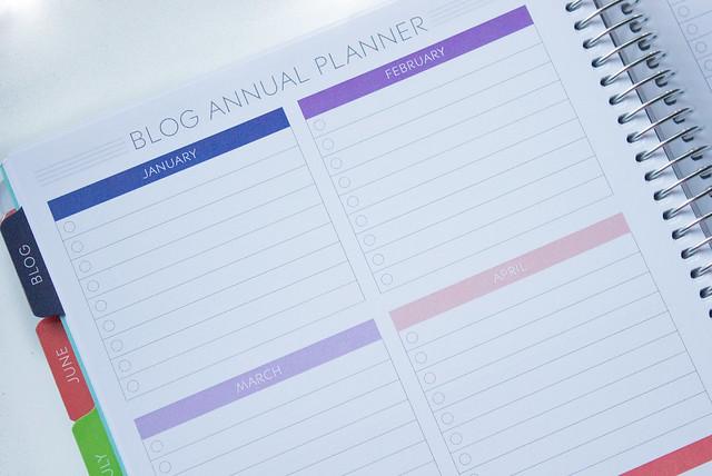 Paper Plum planner blog annual planner