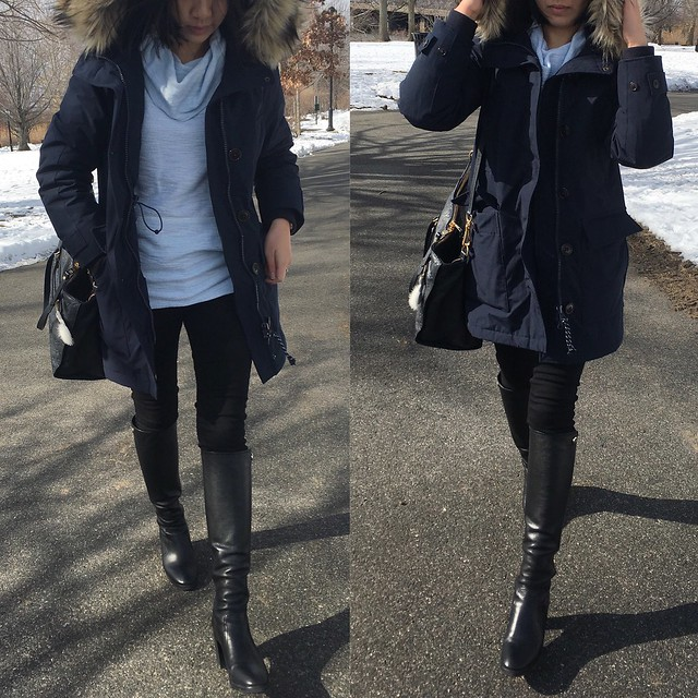 J.Crew Nordic Parka Outfit