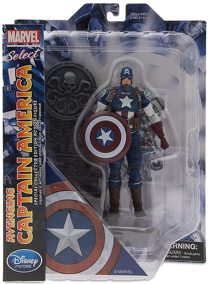 Marvel Select【美國隊長】Avenging Captain America 迪士尼商店限定
