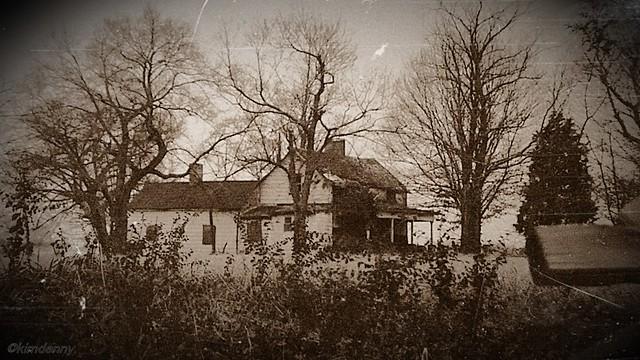 Old McFadden farmhouse