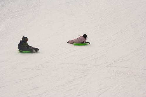 25 sledding